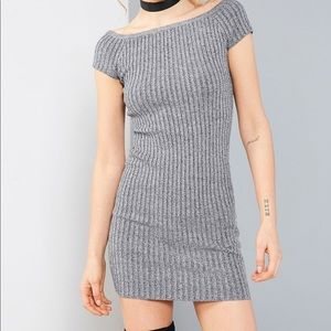 Silence + Noise Ribbed Bodycon Mini Dress